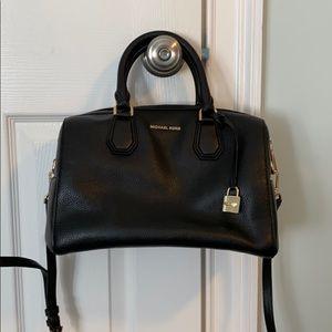 NWT Mk Hand bag with crossbody strap black